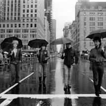 U2-St Patrick's day Parade new york city NEW YORK CITY, 1982