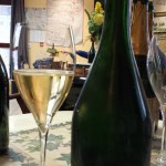 Champagne in a glas