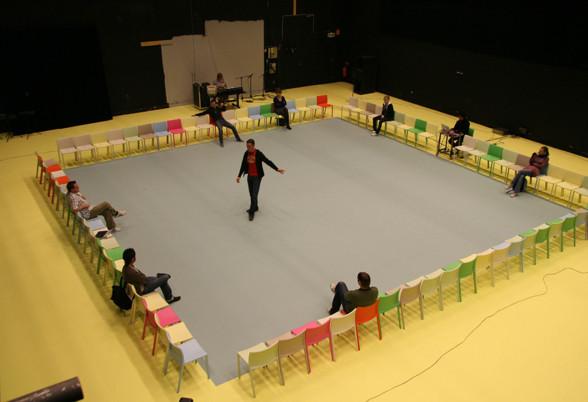 """Från """"Mental States of Gothenburg"""" av Mattias Andersson som spelads på Angereds Teater 2006"""