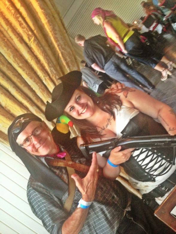 Leon & Sophie var också på pirat humör..