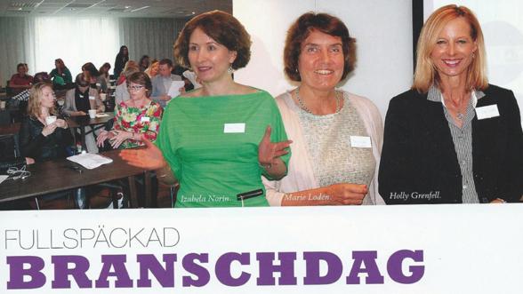Reportage i tidningen Kosmetik nr 3-13 om Eviderms temadag.