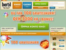bertil casino freespins