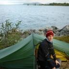 Dag 3 - Morgon vid sjön Rogen