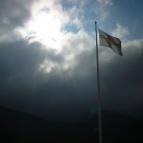 Dag 6 - STF-flaggan vid Helags fjällstation
