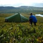 Dag 10 - En av de vackraste tältplatserna på expeditionen