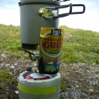 Dag 16 - Primus EtaExpress med egentillverkat vindskydd