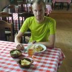 Dag 23 - Pasta Carbonara i Klimpfjällsgården
