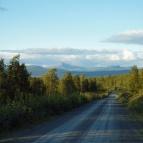 Dag 25 - På kvällen gick jag drygt en mil på grusväg