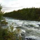 Dag 37 - En fors som rinner från sjön Gåbdåk
