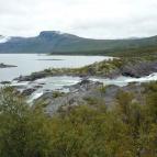 Dag 44 - Lite forsar vid Stora Sjöfallet