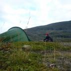 Dag 47 - Tältövernattning vid berget Giron (1551m ö.h.)