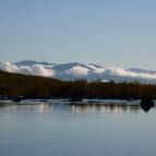 Dag 48 - Abiskojåkka som rinner ut i Torneträsk