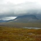 Dag 51 - Njunis (1681m ö.h.) med en glaciär till höger