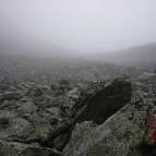 Dag 53 - Fjällvärldens helvete där jag gick vilse i storm och dimma
