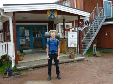 Dag 1 - Redo vid Grövelsjöns fjällstation