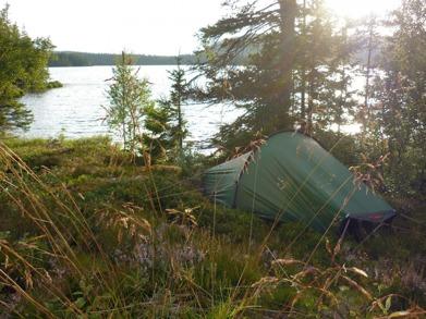 Dag 12 - Kvällssol över Bergsjön