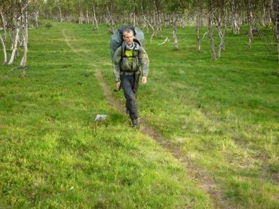 Dag 23 - Lätt och snabb vandring till Tjåkkelestugorna
