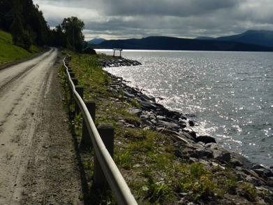 Dag 26 - Vandring längs med Stor-Björkvattnet