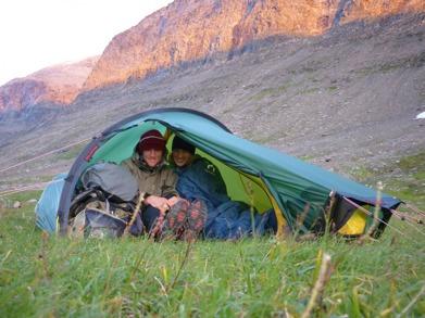 Dag 28 - Trångt i tältet