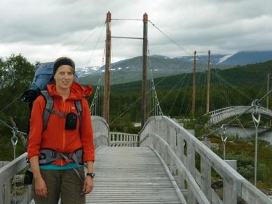 Dag 29 - Elin på en av de fem broarna