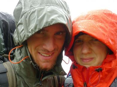 Dag 30 - Två blöta och kalla vandrare