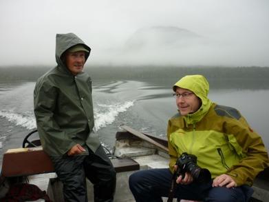 Dag 40 - En kylig båtfärd över till Kvikkjokk