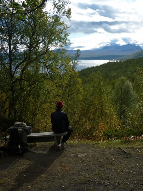 Dag 49 - En kort paus med utsikt över Torneträsk