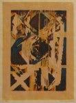 5) Brytning, 33x24 cm, träsnitt, u.100
