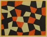 11) Puzzel, 27x34 cm, träsnitt, u.100