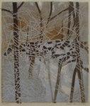 16) Vintersnår,23x20 cm, träsnitt,u.50