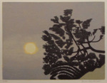 Gren,träsnitt,20x26 cm