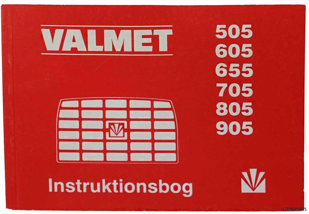 Valmet 505 instruktionsbok