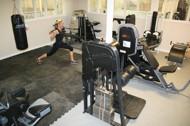 Passa gärna på att träna i vårt gym.