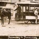 Pražská tramvaj v roce 1876