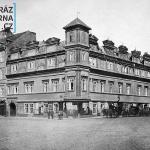 roh Václavského nám. a Jindřišsk (dům U Císařskch)  1883