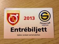 Vinn biljett: Degerfors-Falkenberg 26/10