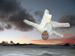 Flying White Guy
