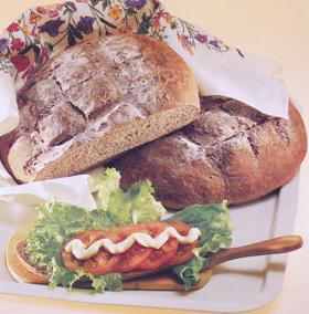 surdegsbröd recept grovt bröd