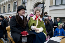 Johan Henrik och Emilie Thomander vid invigningen. Foto: Lena Birgersson