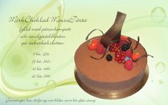 Chokladmoussé päron pris