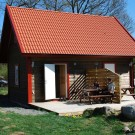 Loftstuga 4-6 pers Våxtorps camping & stugby