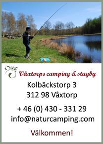 Vill du prova fiskelyckan i någon av våra fiskedammar? Välkommen till oss på Våxtorps Camping & Stugby utanför Laholm om du vill prova fiskelyckan i några av våra fiskedammar. Här har vi planterat i Regnbåge för att öka fisketuren!