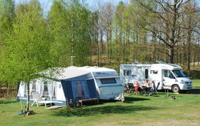 Härligt campingliv på Våxtorps Camping och Stugby