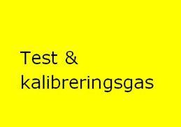Test & Kalibreringsgas