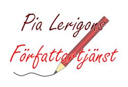 Pia Lerigons Författartjänst