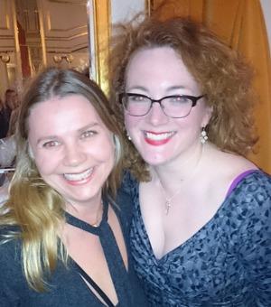 Pia Lerigon och Lucy Dillon på Oscarsteatern 15 mars 2016