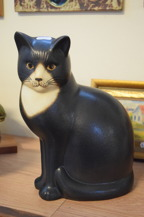 2211. Figurin Katt Lisa Larsson