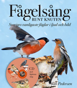 Fågelsång runt knuten. Birdsong around the corner. 60 common bird species in your vicinity. With my text, images and the sounds on a CD. Published 2012