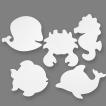 NYHET! Kartongfigurer/Havets Djur