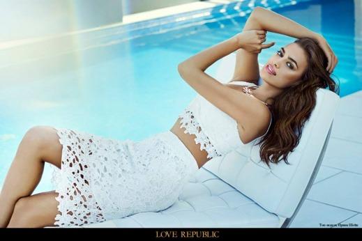 Irina Shayk for Love Republic